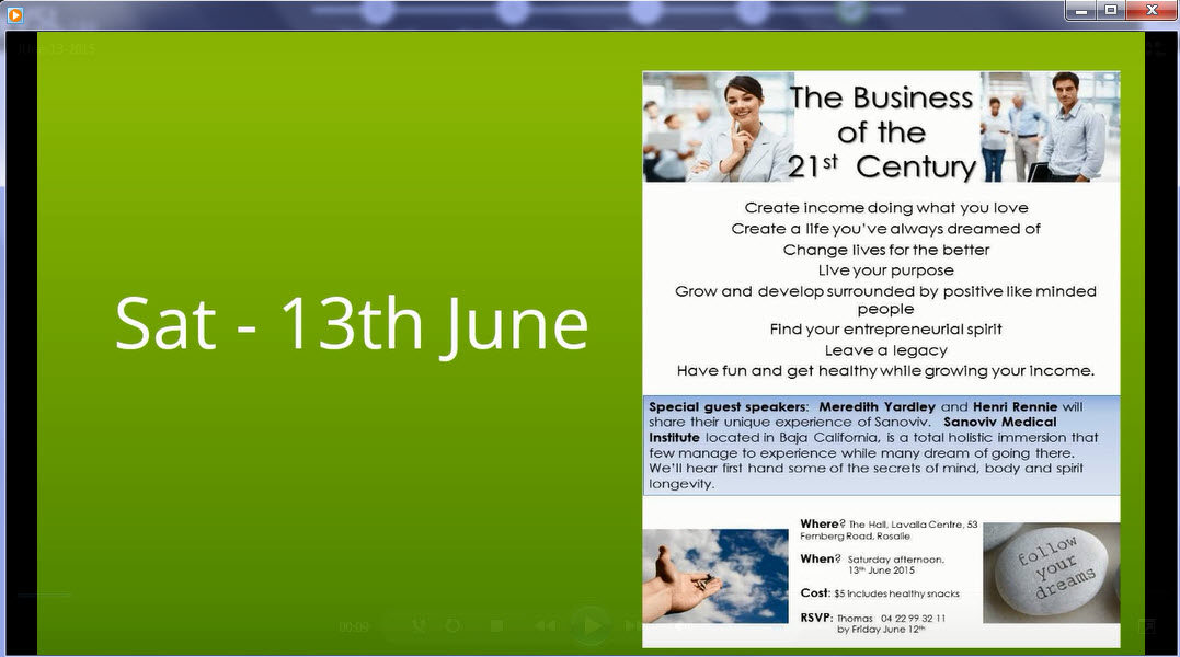 I Need More Money Now – Brisbane Home Business Event June 13th 2015