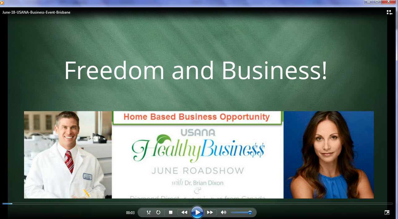 USANA Brisbane Business Event June 18th 2015