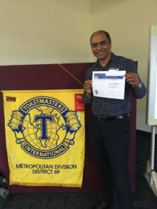 Why I Joined Toastmasters